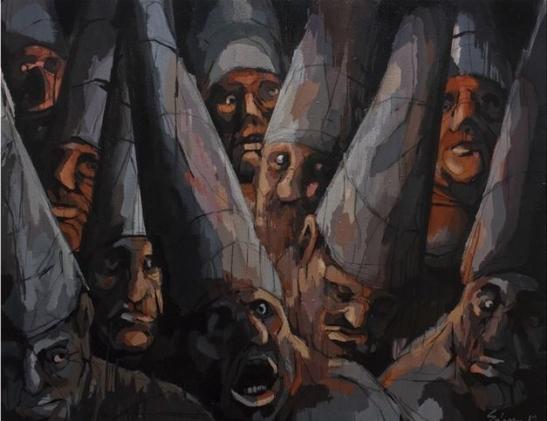 3. Son muchos 2, acrilico sobre lienzo, 2012