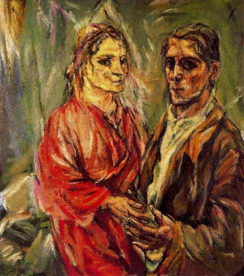 Retrato doble (Alma Mahler y Oskar Kokoschka), Oskar Kokoschka, 1912-1913.