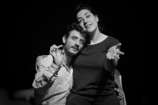 Ignacio Mateos y Laura Barceló