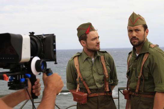 Adam Jezierski y Borja García. Fotografía de María de Lucas