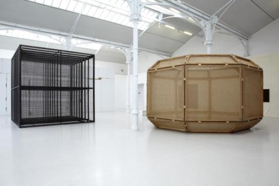 Varias obras expuestas en el Palacio de Velázquez. 2012-2013