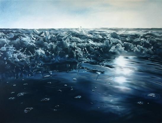 Zaria-Forman-dibujar-agua-gotas-totenart-material-bellas-artes