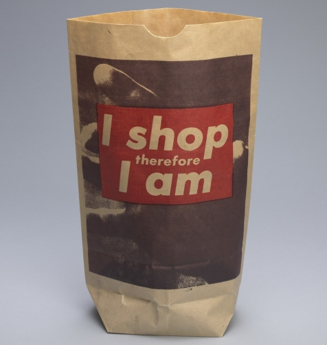 3. Bárbara Kruger - I shop therefore I am
