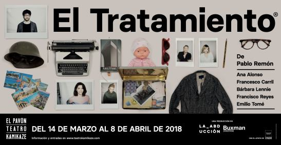 Cartel dibón 'El tratamiento' - El Pavón Teatro Kamikaze