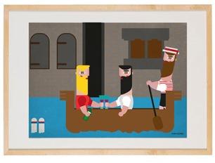 5 venecia ilustración xoan viqueira
