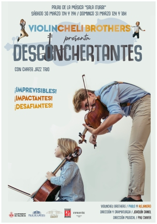 cartel desconchertantes
