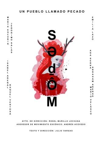 Cartel 'Sedom. Un pueblo llamado Pecado'